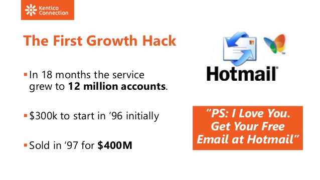 hotmail Growth