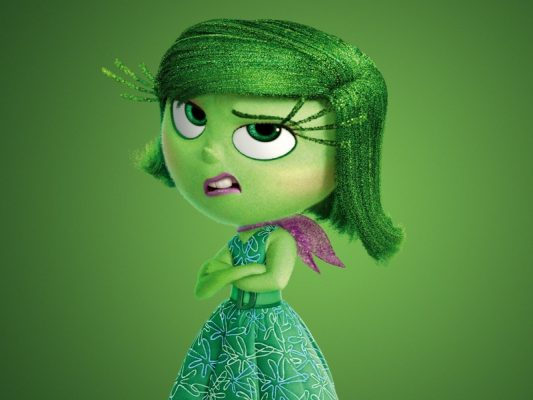 inside out disgust green