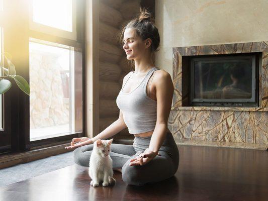 meditating silence