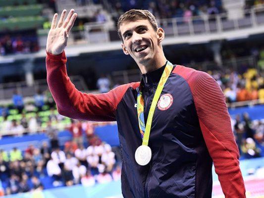 michael phelps นักกีฬา เหรียญทอง