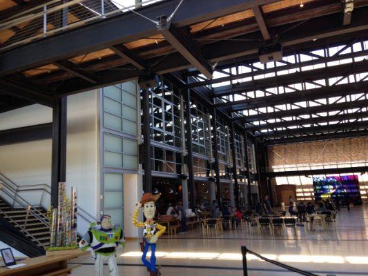 pixar disney work environment
